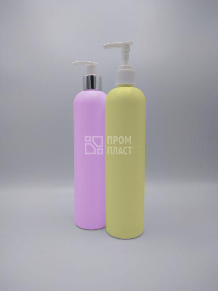 Пластиковая бутыль 400 мл с дозатором для мыла 24/410