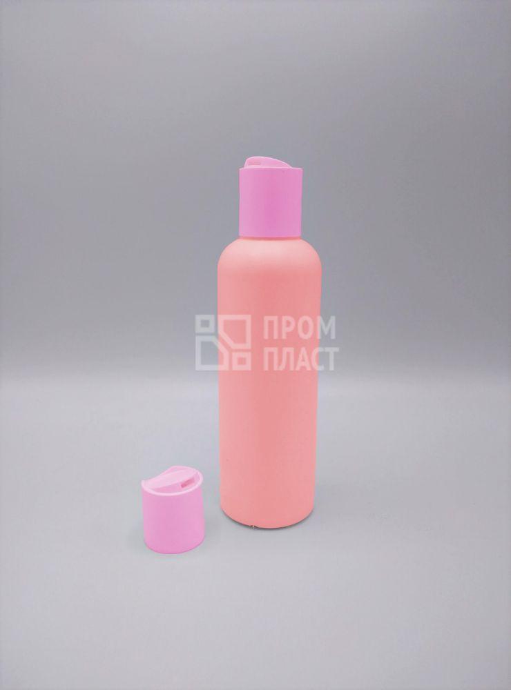 Пластиковый флакон 200 мл с колпачком диск-топ 24/410