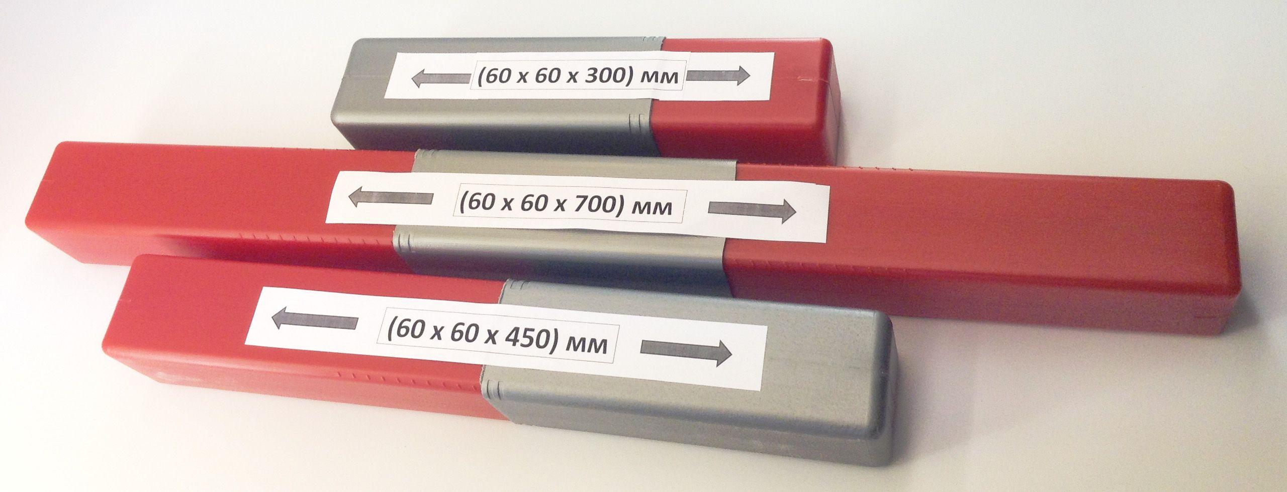 Двух- и трехсекционный пенал для упаковки деталей, изделий