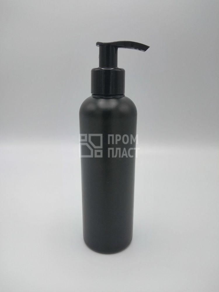 Пластиковый флакон 200 мл с помповым дозатором 24/410