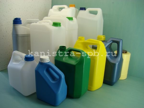 Купить пластиковые канистры от производителя оптом